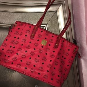 Authentic MCM Reversible Shopping Tote Bag